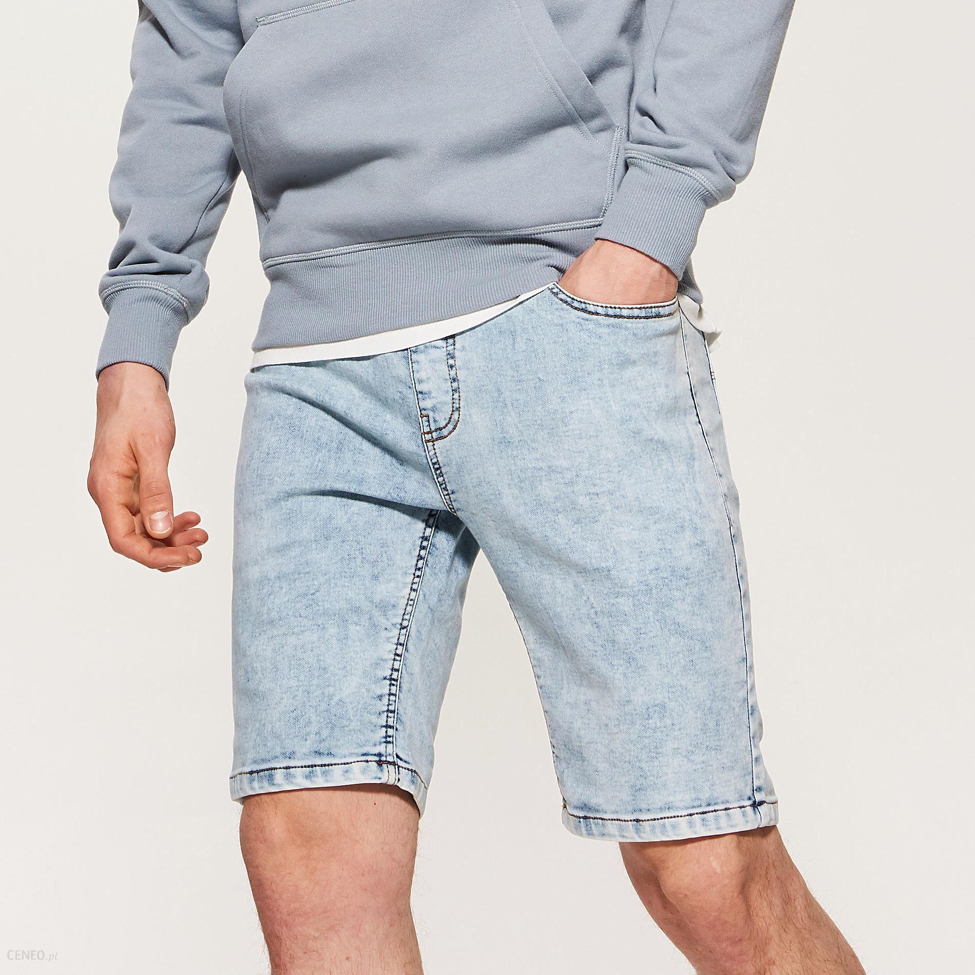 69e981055c83 House - Jeansowe szorty z wiązaniem - Niebieski - Ceny i opinie ...