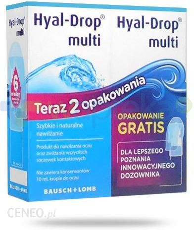 25146b682f4de9 Hyal-Drop Multi krople do oczu 2x10ml - Opinie i ceny na Ceneo.pl