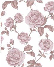 0c8aae885748e1 Tapeta flizelinowa Countess Róże 10 m biała