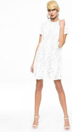 fda54313af EyeForFashion Sukienka z frędzlami 3D AK ETNO 11