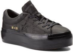 83ac0d0aac39d Sneakersy CONVERSE - One Star Platform Ox 559898C Black/Black/Black eobuwie
