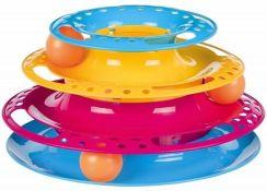Trixie Wieża do zabawy dla kota plastik 25cm TX41345