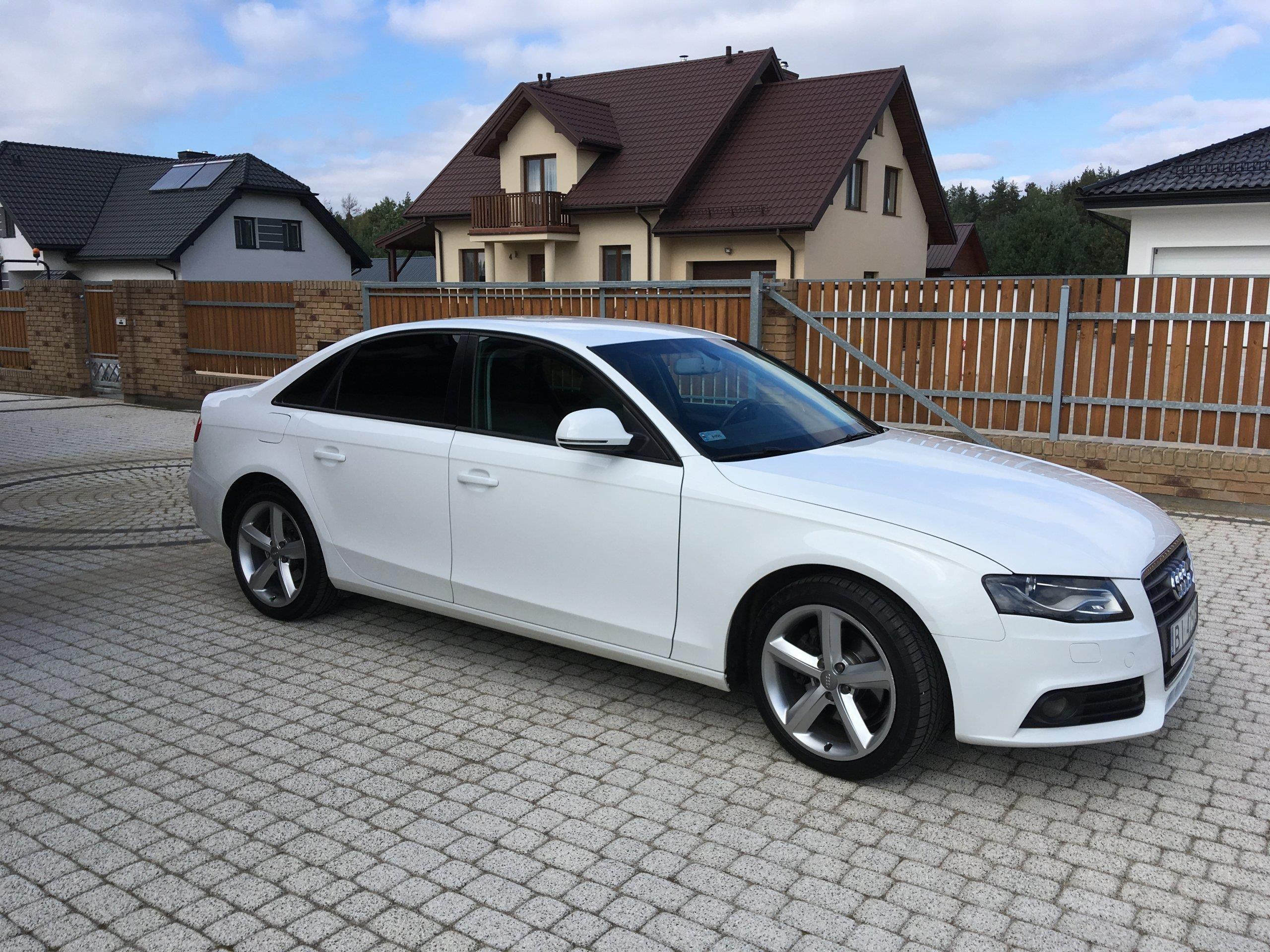 Audi A4 B8 2008 Benzyna 180km Sedan Biały Opinie I Ceny Na Ceneopl