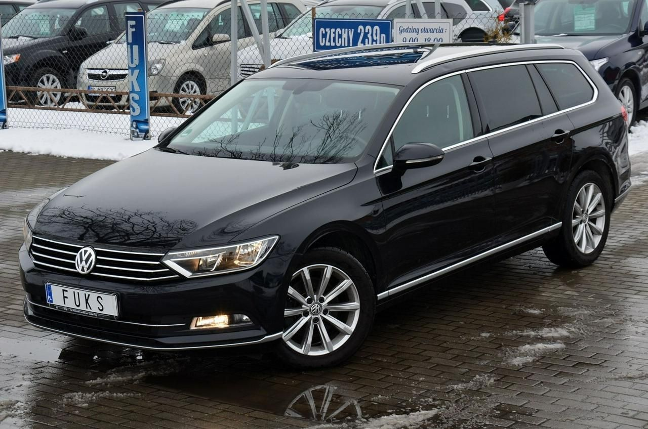 volkswagen passat b8 2015 diesel 150km kombi czarny opinie i ceny na