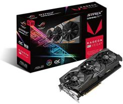 Amazon 8 GB pamięci ASUS ROG Strix Radeon RX Vega 56 OC Gaming