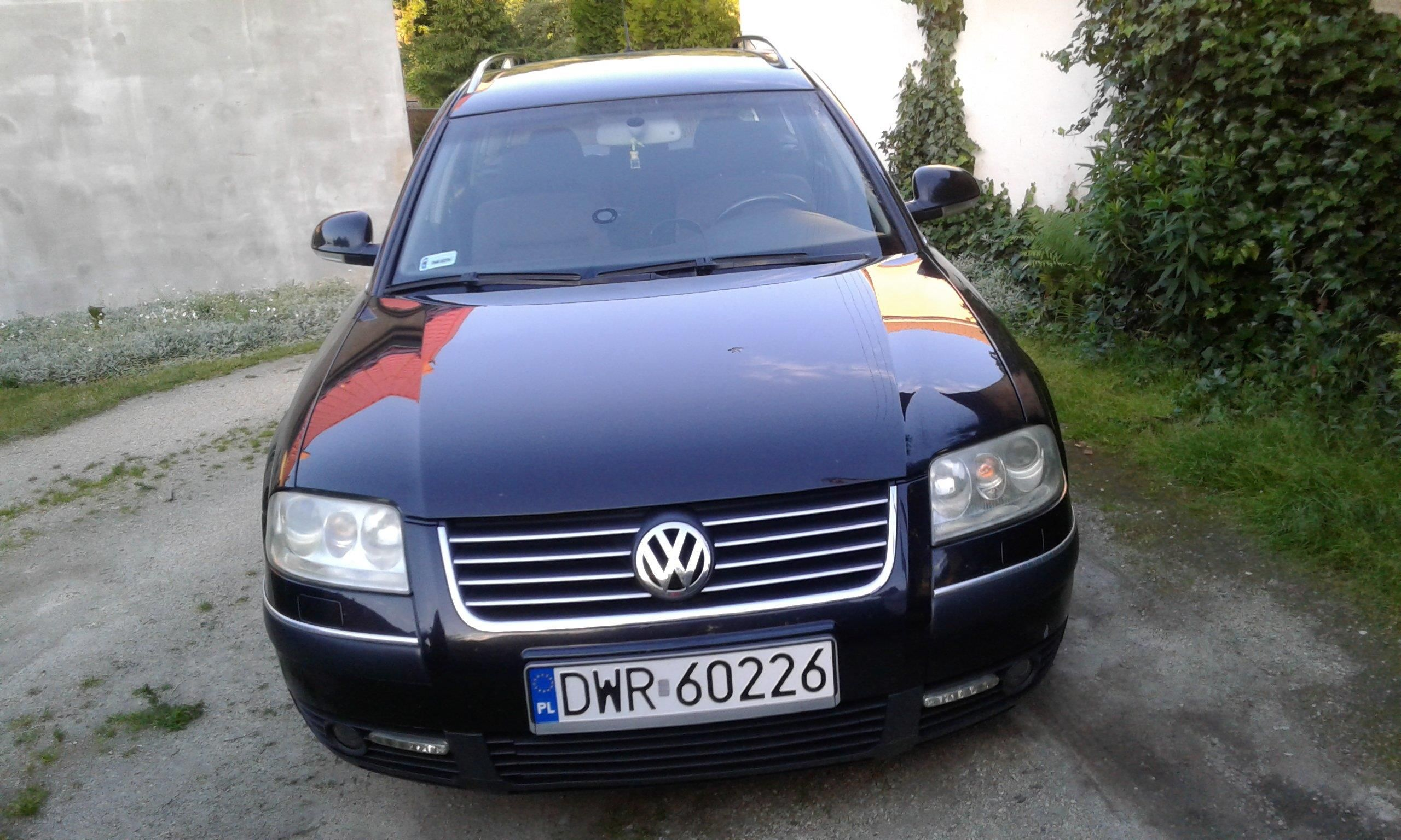 volkswagen passat b5 fl 2004 diesel 130km kombi czarny opinie i ceny na. Black Bedroom Furniture Sets. Home Design Ideas