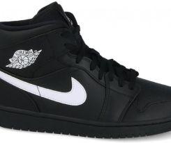 Buty męskie sneakersy Air Jordan 1 Mid 554724 049 CZARNY
