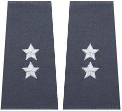 71447a9de87a5 mon Pagony pochewki do kurtki całorocznej Służby Więziennej podporucznik  MIL1405 SR