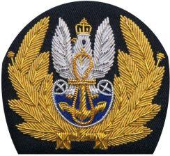 0fcee3be3db5a mon Orzełek do czapki garnizonowej oficera Marynarki Wojennej MIL866 SR