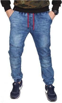 0562611a6 Spodnie Joggery Męskie Jeans od Neidio DR4239 - NIEBIESKI || JEANSOWY