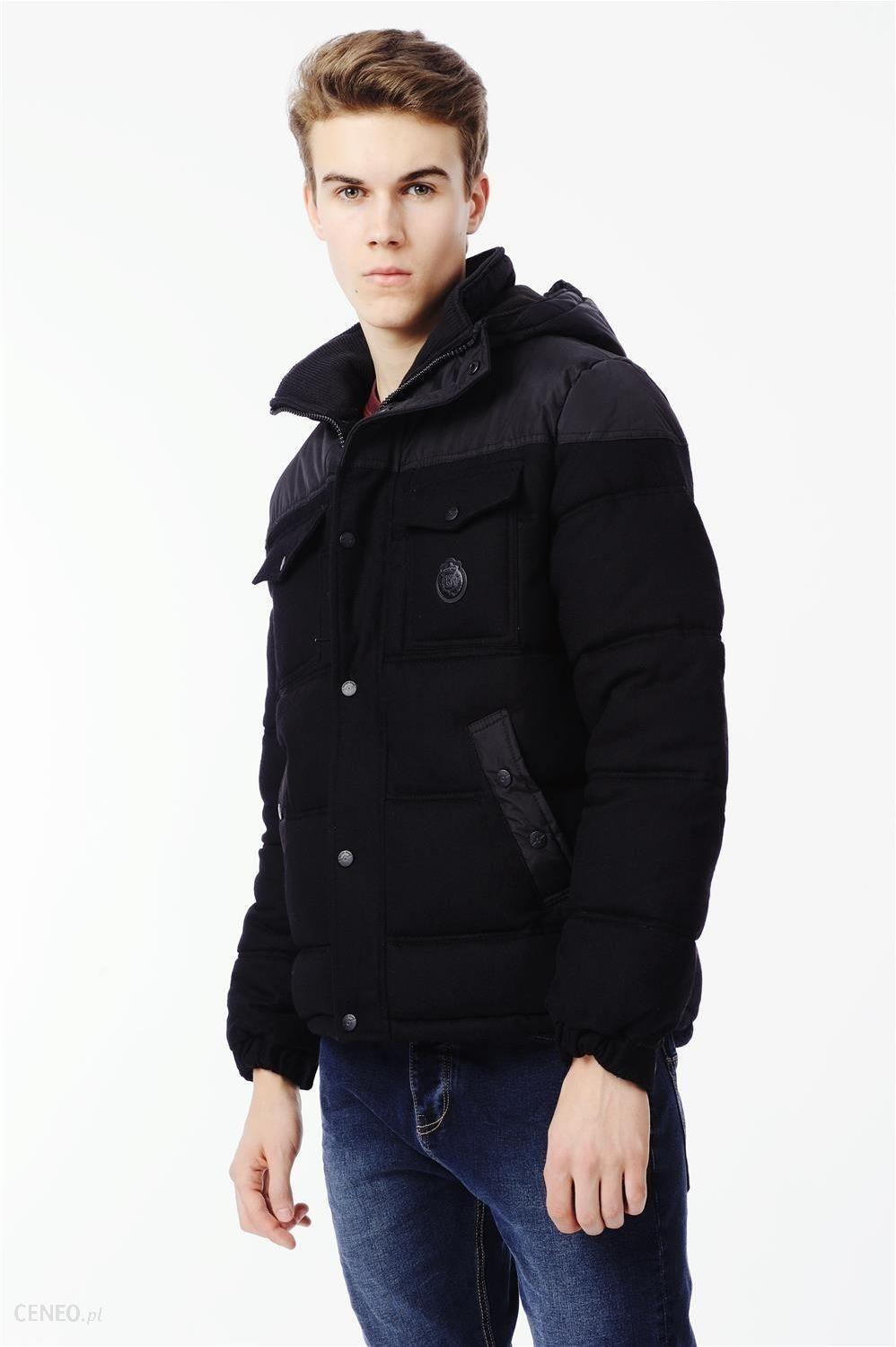 zimowa kurtka krótka męska