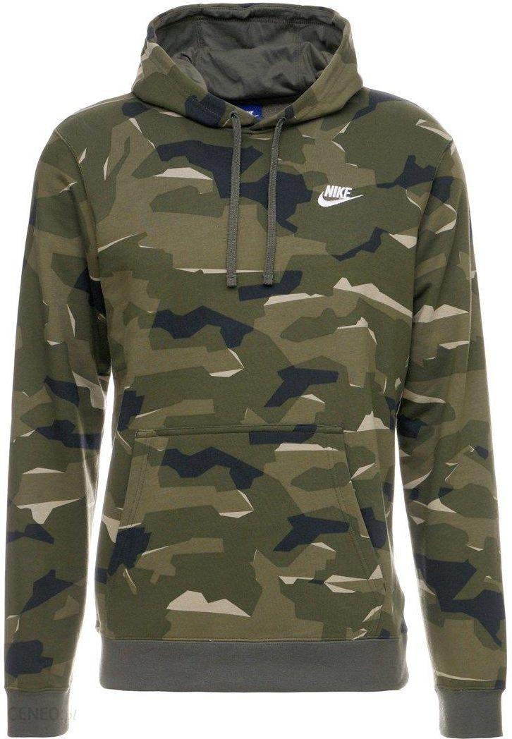 Nike Sportswear Club Camo Bluza PO Khaki