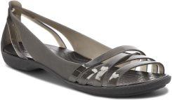 Sandały CROCS - Isabella Huarche 2 Flat W 204912 Black Black eobuwie 00084b3945