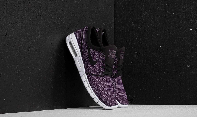 zakupy Pierwsze spojrzenie wyprzedaż w sprzedaży Nike SB Stefan Janoski Max Black/ Black-Pro Purple-White