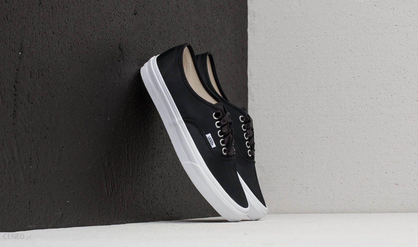 Vans Authentic (Satin Lux) Black True White Ceneo.pl
