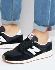 New Balance 70s Running 420 Trainers in Black MRL420SD - Black