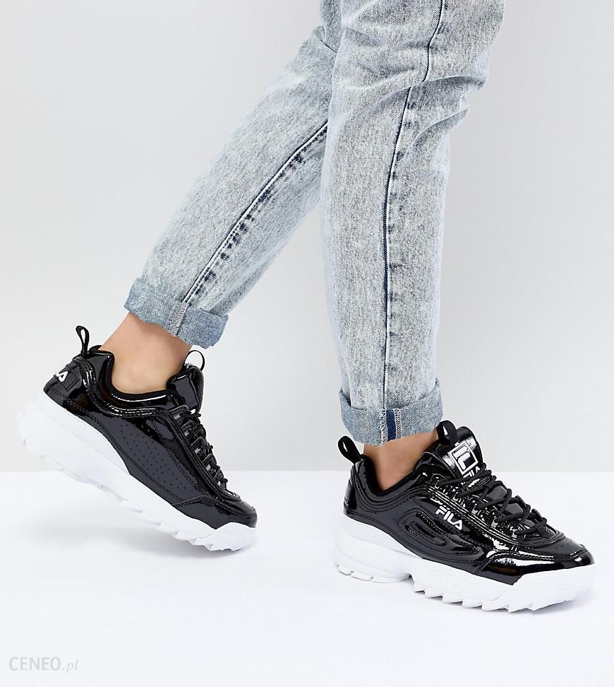 Fila Women's Disruptor II Premium Patent Casual Athletic
