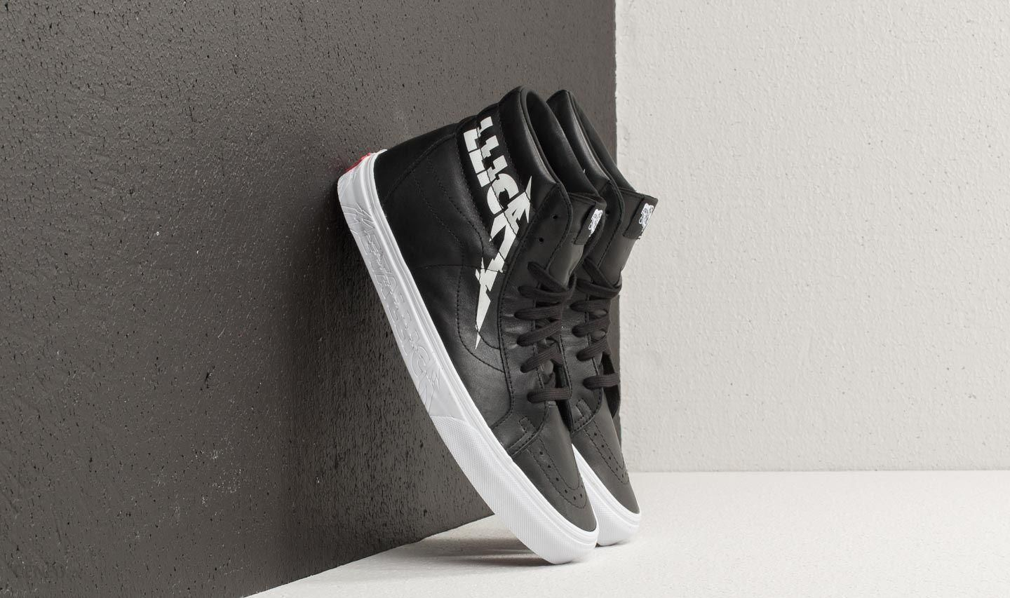 Vans SK8 Hi Reissue (Metallica) Black True White Ceneo.pl