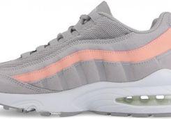 Buty damskie sneakersy Nike Air Max 95 Le (GS) 310830 011 SZARY Ceny i opinie Ceneo.pl