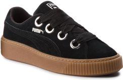 e678eb31 Sneakersy PUMA - Platform Kiss Suede Wn's 366461 01 Puma Black/Puma Silver.  Czarne buty sportowe damskie ...