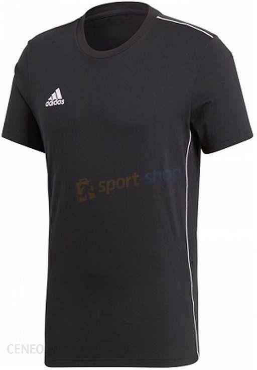 93bc5aef91648c Koszulka męska Core 18 Adidas (czarna) - Ceny i opinie - Ceneo.pl
