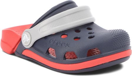 f36ff9b7d072b Klapki CROCS - Bump It Clog K 202282 Blue Jean Grass Green - Ceny i ...