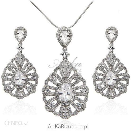 921f2e88393e4b Ankabiżuteriapl Biżuteria Srebrna Komplet Srebrny Z Cyrkoniami