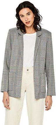 c727f978090a2 Amazon FIND Damen Blazer mit Karomuster, Mehrfarbig (Multicoloured), 44  (Herstellergröße: