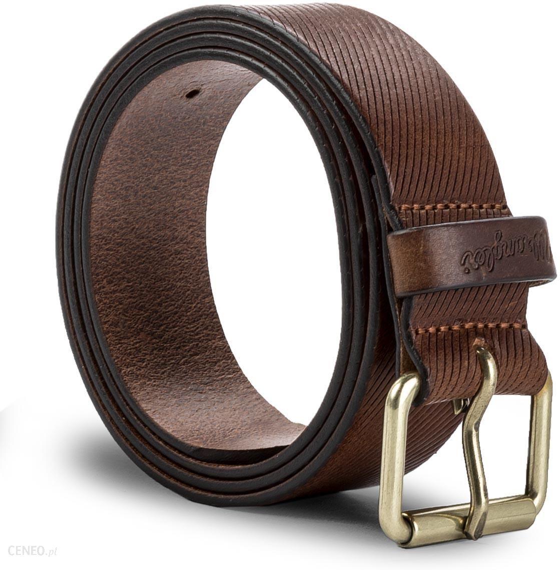 d8ce52ec88cd01 Pasek Męski WRANGLER - Roller Belt W0B40U181 100 Cognac - Ceny i ...