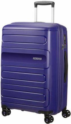 852b813ab28bf SwissBags Q-Box M 65cm Niebieska średnia walizka - niebieski - Ceny ...