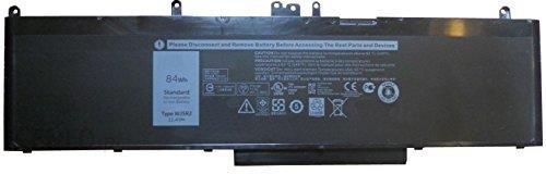 Amazon amsahr wj5r2 – 02 do bateria do Dell wj5r2/Precision 3510/4 °F5yv  (7350 mAh/84Wh/11,4 V) Czarny