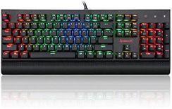 Amazon Redr Agon K557 Rgb Gaming Mechaniczna Klawiatura Qwerty Z Oświetleniem Led Wymienne Przyciski 104 Z Kablem Usb Do Pc Laptopa Ceneopl