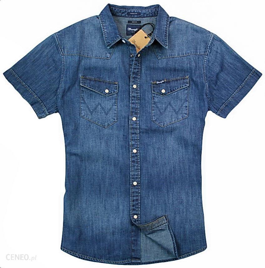 821131f5 Wrangler Western Shirt Indigo Koszula Jeansowa - L - Ceny i opinie -  Ceneo.pl