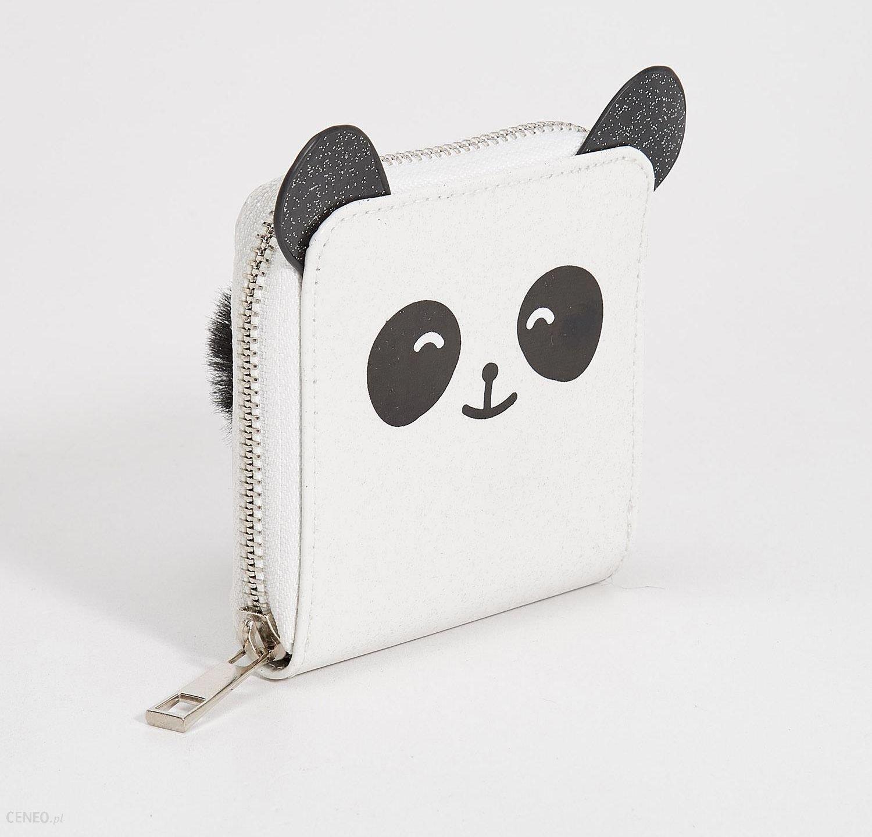 1c023d5bc29b9 Sinsay - Portfel panda z uszami - Biały - Ceny i opinie - Ceneo.pl