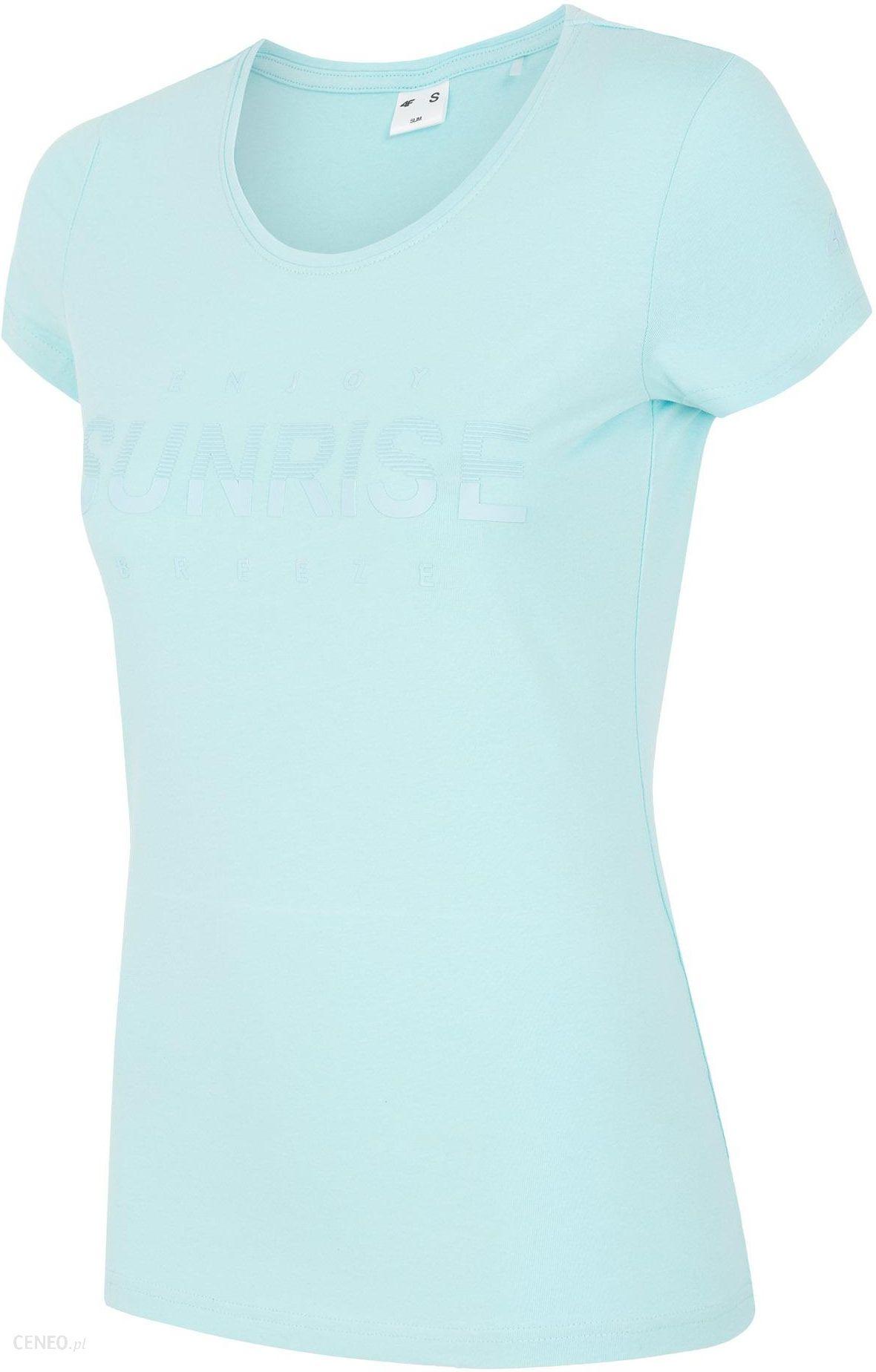c26e9496d0647c 4F T-shirt damski TSD453 - mięta - Ceny i opinie - Ceneo.pl