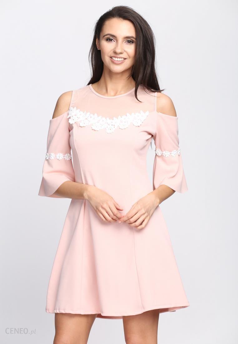 b66fcc513b Różowa Sukienka Margarita - Ceny i opinie - Ceneo.pl