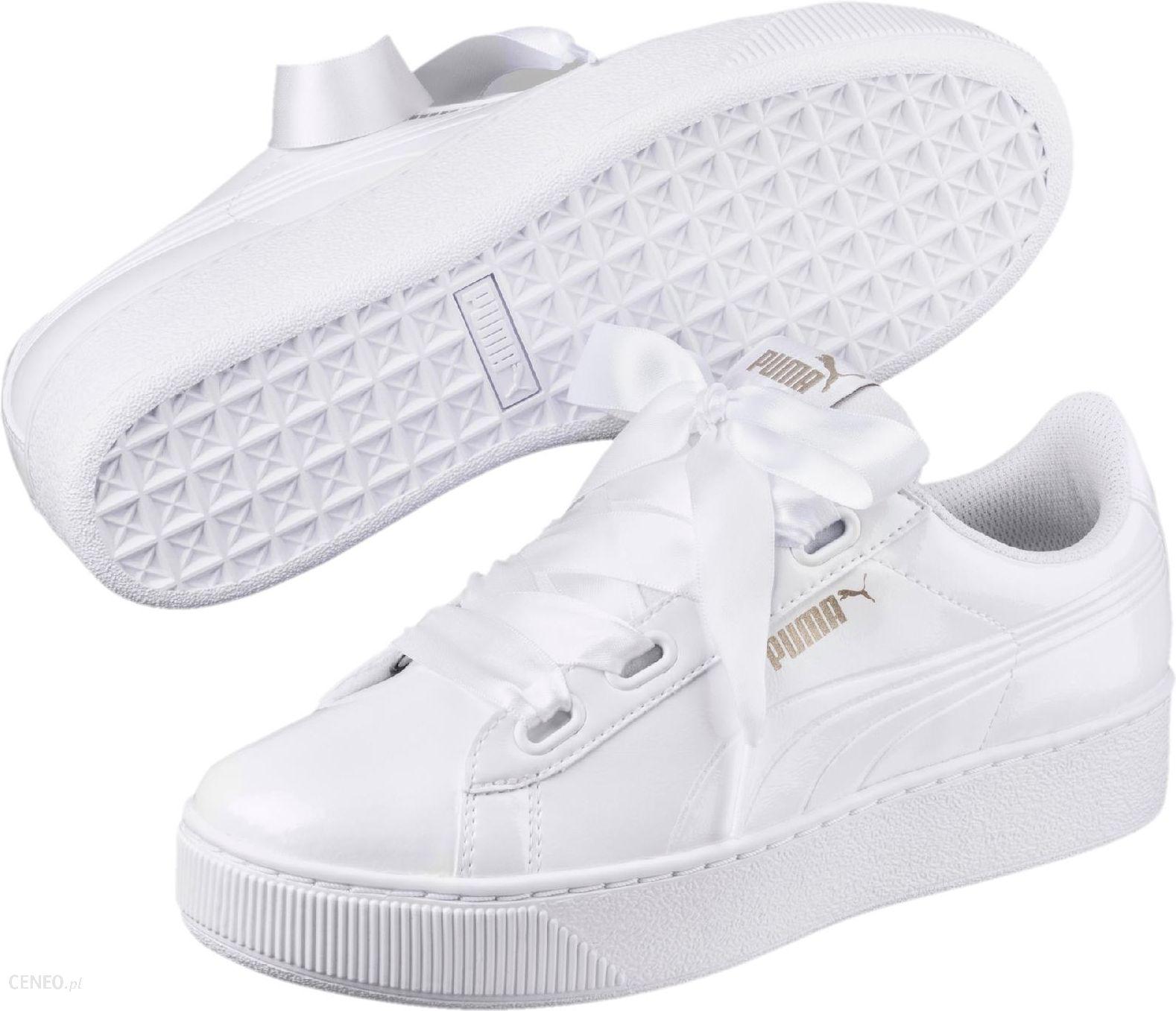 Puma damskie buty Vikky Ribbon P White 37, kolor biały