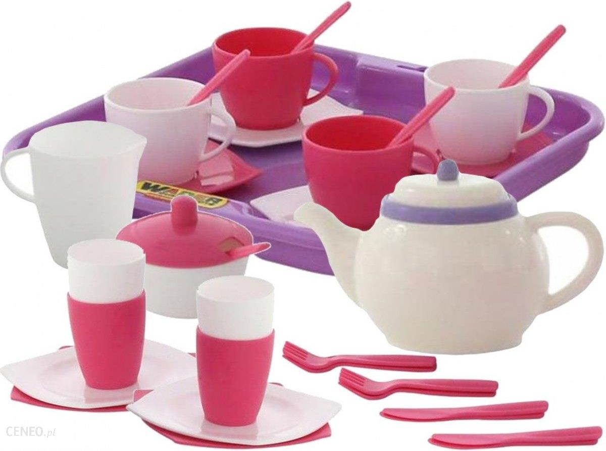 Zabawka Wader Zestaw Naczyn Serwis Do Herbaty Dla 4 Osob 58973