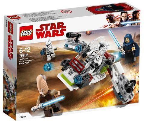 Klocki Lego Star Wars Jedi I żołnierze Armii Klonów 75206 Ceny I
