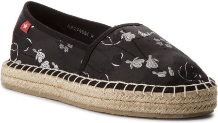 4054bde4bc547 Espadryle TOMMY HILFIGER - Th Sequins Espadrille FW0FW02412 Tango ...