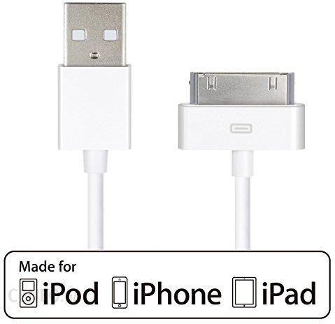 Amazon hqtech certyfikowany firmy Apple kabel USB do Apple iPhone 44S, iPhone 3 G3GS, iPad 123, iPod (1 Pack) 624 Ceneo.pl