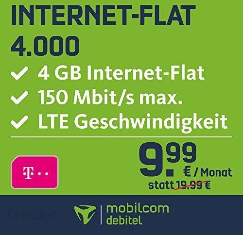Amazon Mobilcom Debitel Vodafone Karta Sim Do Internetu 6000 6000