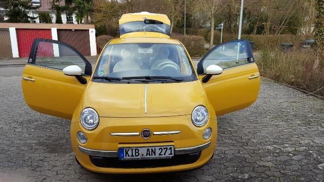 Genialny Fiat 500 2012 benzyna 69KM hatchback żółty - Opinie i ceny na Ceneo.pl SX59
