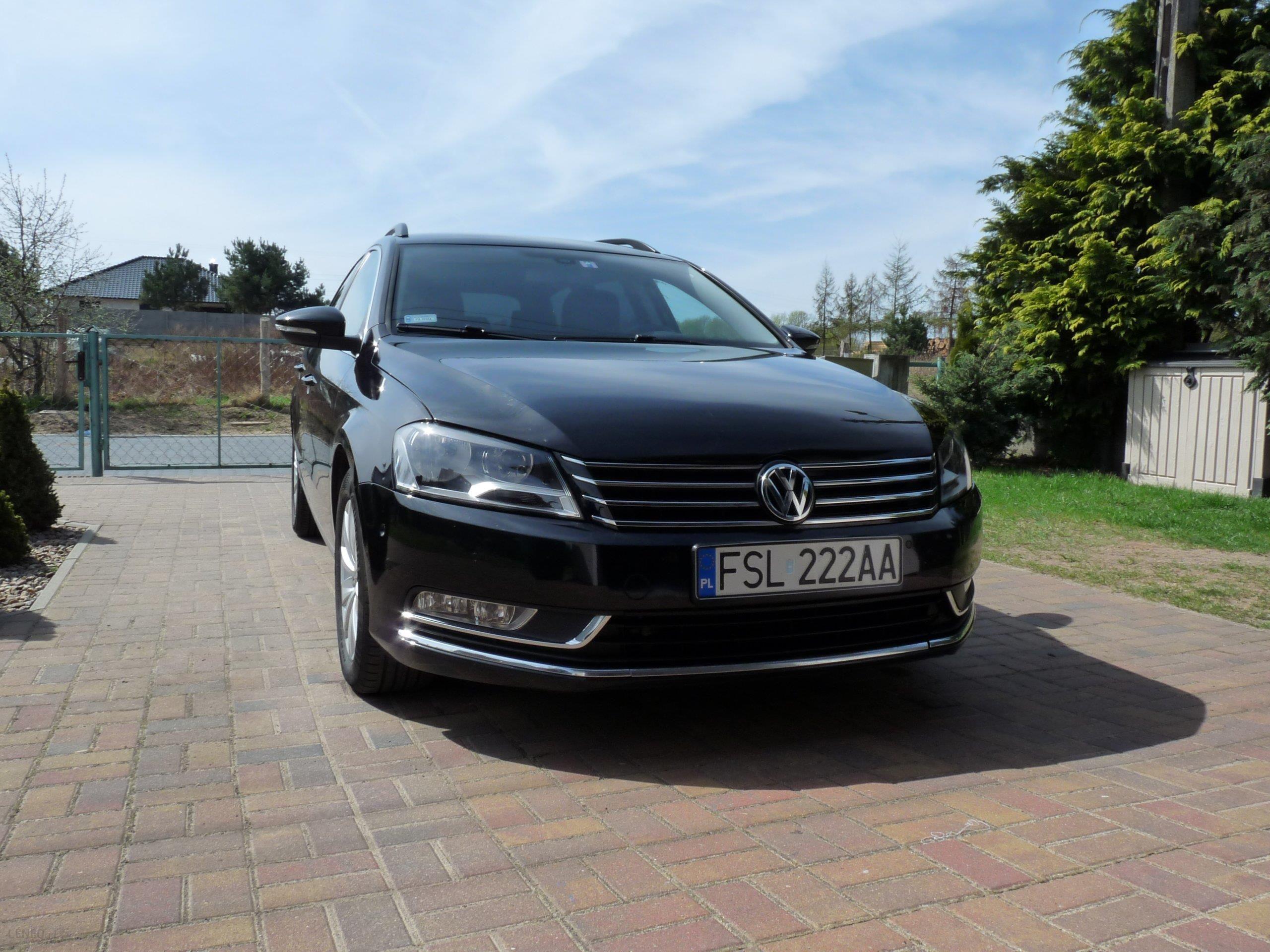 volkswagen passat b7 2012 diesel 140km kombi czarny. Black Bedroom Furniture Sets. Home Design Ideas
