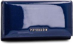 b136ba1686ad0 Duży Portfel Damski PETERSON - 466-14-13-07 Dark Blue eobuwie