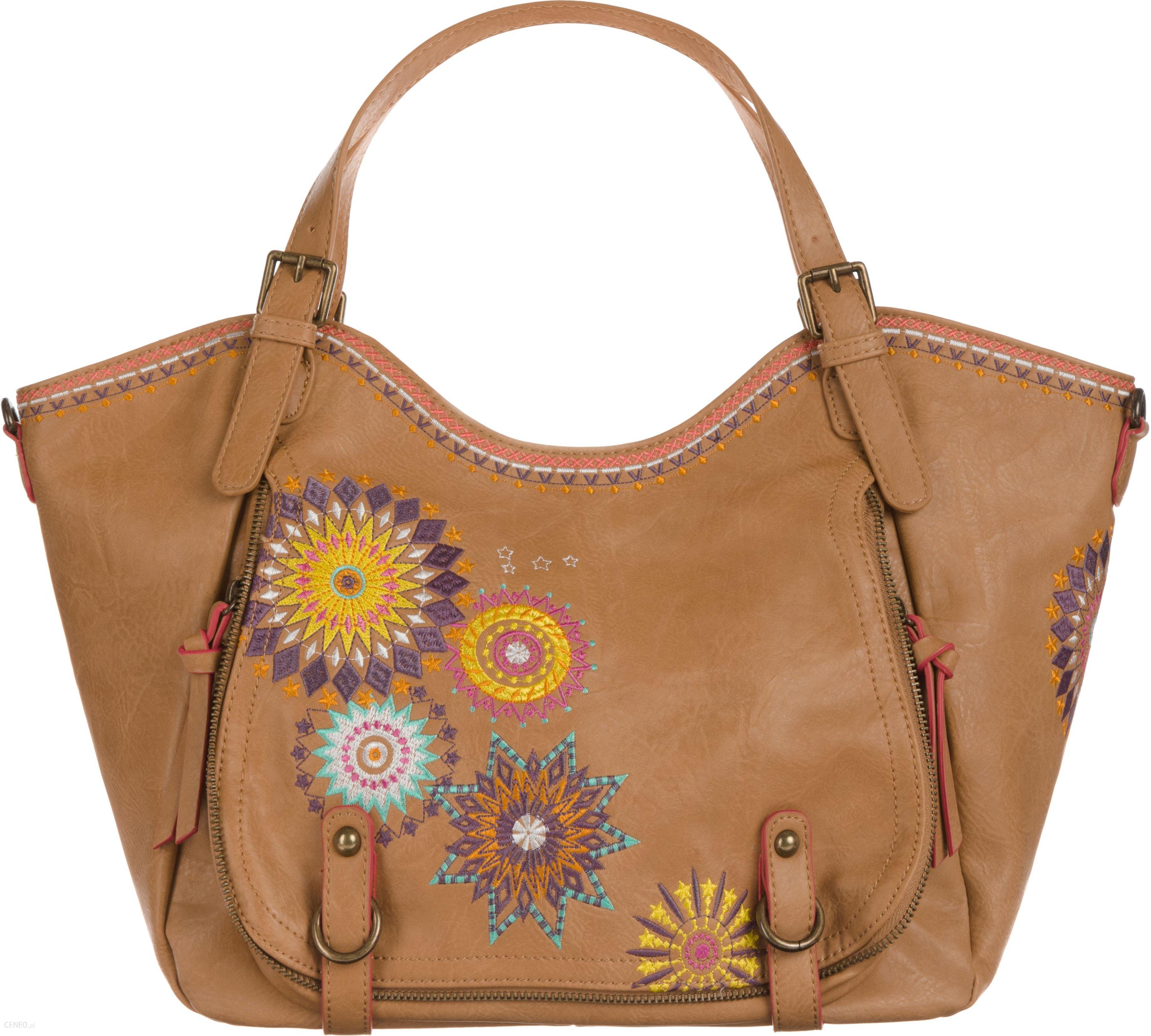 27beee87b3167 Desigual Amelie Rotterdam Handbag Brązowy UNI - Ceny i opinie - Ceneo.pl