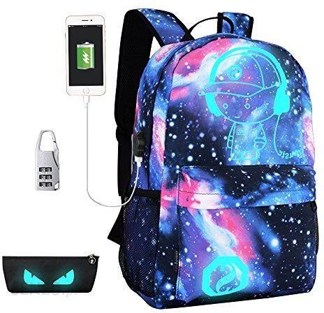 2b56909615b4c Amazon Plecak szkolny plecak Luminous School Bag