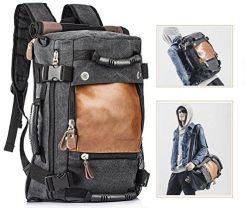 255af377c21f Amazon Overmont 35I wielofunkcyjny plecak męski w stylu vintage