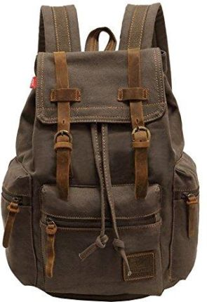 b5e295bb82089 Amazon Indyjskie handmadecraft Vintage męski skórzany plecak Vintage Sling-BAG  Medium. 214