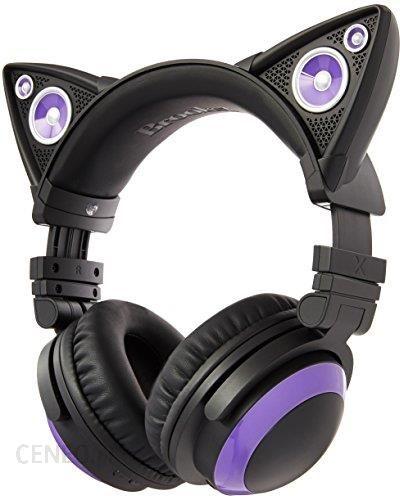 Amazon axent Wear Cat Ear Słuchawki z głośników – lila Ceneo.pl